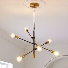Mobile Chandelier, Two-Tone, Large