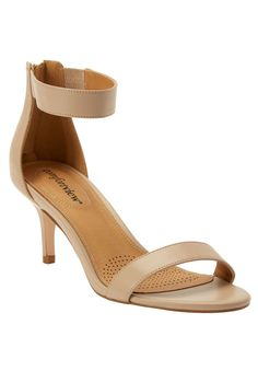 3fc74729cd5 The Stevie Sandal by Comfortview - Women s Plus Size Clothing Wide Dress  Shoes