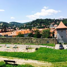 Brașov - The Fortress city, Romania City Life, Romania, Dolores Park, Around The Worlds, Landscape, Instagram Posts, Travel, Scenery, Trips