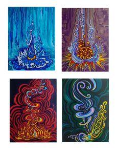 Elements:  The Four Elements.