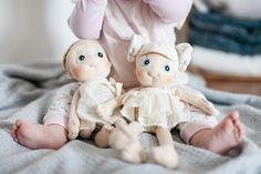 Les poupées Rubens Barn #Ecobuds