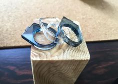 A personal favorite from my Etsy shop https://www.etsy.com/il-en/listing/512841965/laser-cut-acrylic-ring-perspex-statement
