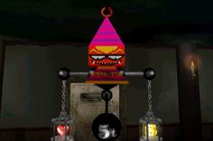 "obscurevideogames: ""judging - Gregory Horror Show (Capcom - PS2 - 2003) """