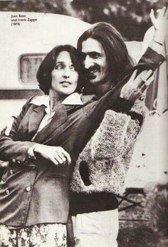Joan Baez and Frank Zappa- 1978
