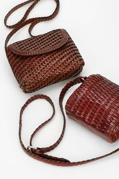 Urban Renewal Vintage Woven Leather Bag #urbanoutfitters