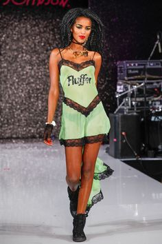 Betsey Johnson Spring 2013 Ready-to-Wear Collection #lingerie #sassy #lace