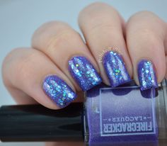 Enchanted Polish Freeze Machine over Firecracker Lacquer Forever With Me