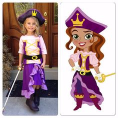 Jake and the Neverland Pirates Princess Oliver + S Swingset skirt and Class picnic top