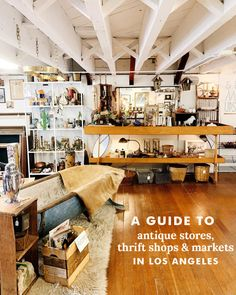 A Map Of Antique Shops Thrift Stores And Markets In Los Angeles The Gold Hive Antique Stores Thrifting Antique Shops