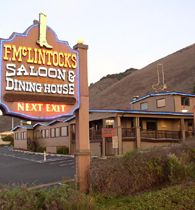F McLintocks Saloon and Dining House in Pismo Beach, Ca