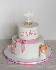 A Communion Cake.                                    Just change the name to my sisters......
