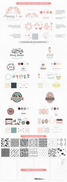 Essential Branding & Identity kit by Lisa Glanz on Creative Market