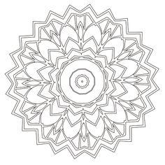 Mandala Coloring Page #34