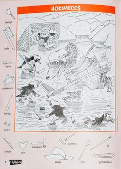 a mi utunk: rejtett képek Highlights Hidden Pictures, Hidden Picture Puzzles, Animal Activities, Bullet Journal, Printables, Kids, Animals, Kid Stuff, Journey