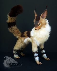 Fox Squirrel Room Guardian by AnyaBoz monster beast creature animal | Create your own roleplaying game material w/ RPG Bard: www.rpgbard.com | Writing inspiration for Dungeons and Dragons DND D&D Pathfinder PFRPG Warhammer 40k Star Wars Shadowrun Call of Cthulhu Lord of the Rings LoTR + d20 fantasy science fiction scifi horror design | Not Trusty Sword art: click artwork for source