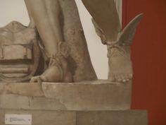 Museo Arqueológico de Sevilla. Estatua de un dios, Hermes.