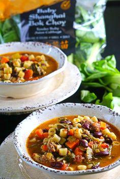 Pasta Fagioli Soup w