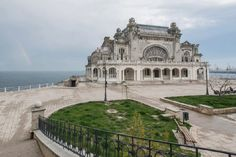 During a recent trip to Romania, I had the chance to shoot the abandoned casino in Constanta. As a pearl watching over the Black Sea where wealthy travelers and the elite flocked from all over Europe Abandoned Mansions, Abandoned Buildings, Abandoned Places, Haunted Places, Constanta Romania, Richest In The World, French Photographers, Black Sea, Monte Carlo