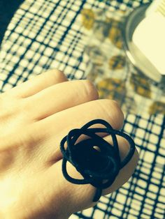 spiral sprouted ring - 3d printed jewelry - repeatofffender - savannah ga