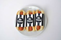 Free printable hot dog wrappers  #ifyourehappy #spon