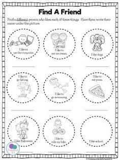 Friendship Worksheets for Kids. 20 Friendship Worksheets for Kids. Back to School Kindergarten Teaching Friendship, Friendship Crafts, Friendship Lessons, Friendship Theme, Friendship For Kids, Friend Friendship, Friendship Bracelets, Free Kindergarten Worksheets, Worksheets For Kids