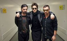 Thirty Seconds To Mars - Tomo, Jared and Shannon.