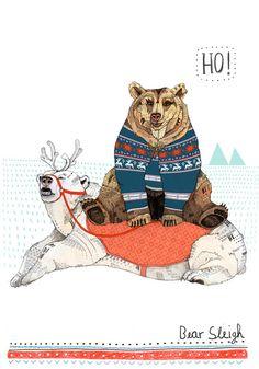 Sandra Dieckmann / Bear Sleigh