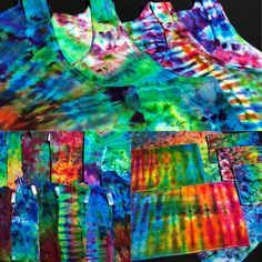 Shop handmade, one of a kind tie dye clothing, bedding, towels and tapestries at WWW.DETROITTIEDYE.COM
