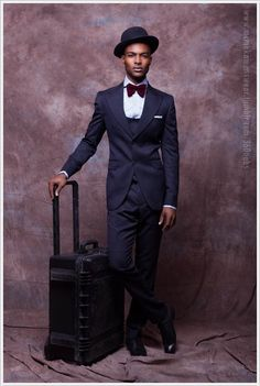 Nigerian Designer McMeka Introduces 'Work Hard Play Hard' Menswear Collection