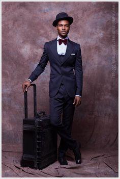 Nigerian Designer McMeka Introduces 'Work Hard Play Hard' Menswear Collection