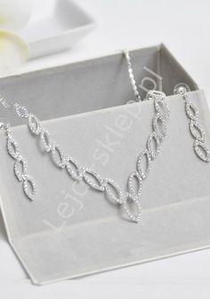 Swarovski crystals necklace. Evening, wedding jewelry