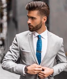 39 Coolest Hairstyle Ideas For Men Handsome Looksglam com is part of Mens hairstyles The buzz cut is just one of the majority of attractive formal hairstyles which could be worn at the wedding Sho - Mens Hairstyles With Beard, Cool Hairstyles For Men, Hairstyles Haircuts, Haircuts For Men, Straight Hairstyles, Hairstyle Ideas, Formal Hairstyles Men, Classic Mens Hairstyles, Latest Men Hairstyles