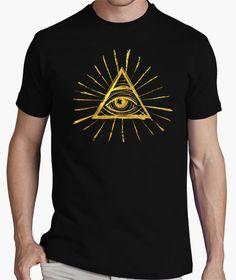 Camiseta All Seeing Eye - Gold Edition                              …