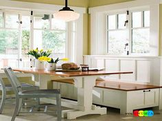 ... Kitchen Nook Ideas Small Kitchens Corner Banquet Color Diy Built In ...