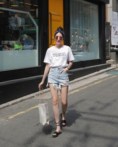 #Dahong style2017 #summerlook #Soyeon