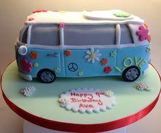 Hippy vw cake                                                                                                                                                                                 More