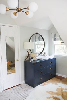 Mom Hack Monday- Cruze's Nursery Reveal, mid century nursery, baby boy