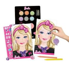 Amazon.com: Barbie Make-Up Artist: Toys & Games . Ella would love this!