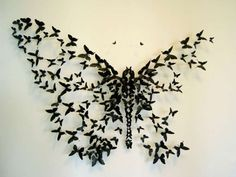 nice idea for butterfly tattoo