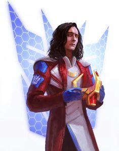 Loki as Starscream..