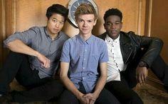 Thomas with Ki Hong and Dexter