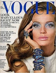 Veruschka, US Vogue, 1968