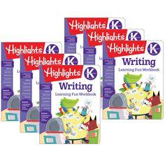 (6 Ea) Learning Fun Workbooks Writing Highlights
