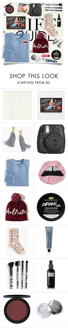 """""""Gift Guide: Fun Finds"""" by brynhawbaker ❤ liked on Polyvore featuring Dirty Pretty Things, Rifle Paper Co, Polaroid, J.Crew, Fujifilm, Blair, Hollister Co., Talbots, La Compagnie de Provence and Torrid"""