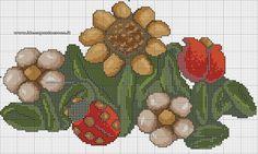 Schemi thun - idee a punto croce x-stitch schemi tun вышивка крестом, крест Cross Stitch Books, Cross Stitch Flowers, Cross Stitch Patterns, Minnie Baby, Diabetic Dog, Stitch 2, Dog Snacks, Needlework, Crafts For Kids