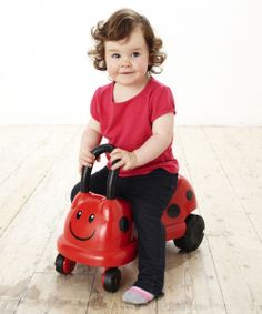 Easy Wheels Ladybird Ride On