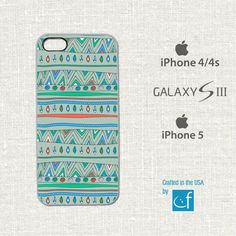 iPhone 4 4s 5 or Samsung S3 Case Abstract WHITE or by CaseFase, $18.00