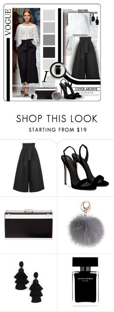 """Flair For Fashion"" by angelflair ❤ liked on Polyvore featuring Fendi, Giuseppe Zanotti, Oscar de la Renta, Narciso Rodriguez and Apple"