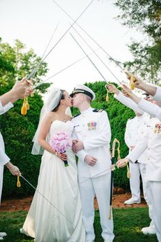 Colleen Miller Events, Charlottesville, VA / Virginia Wedding and Event Planner / Sarah & Sean's Military Wedding at Ash Lawn-Highland / Photo: Ron Dressel Photography