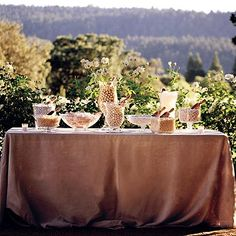 Wedding Candy Buffet by Swank Sweets, via Flickr